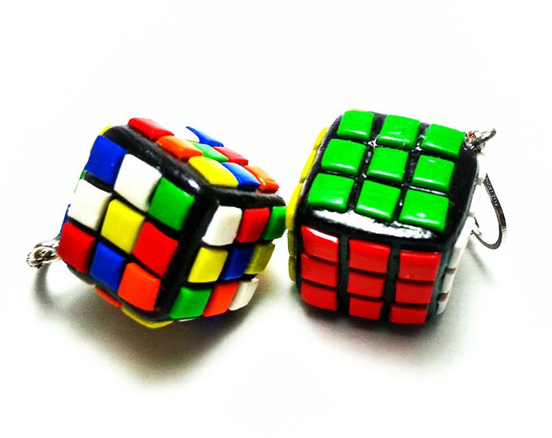 Cubi di rubik in fimo
