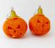 Mini-zucca di Halloween in Fimo