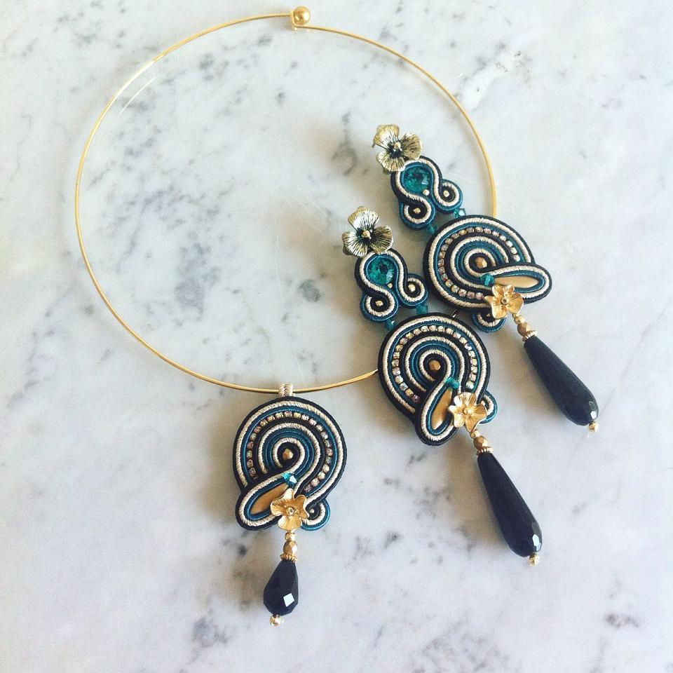 gioielli in soutache di Lavi Bijoux